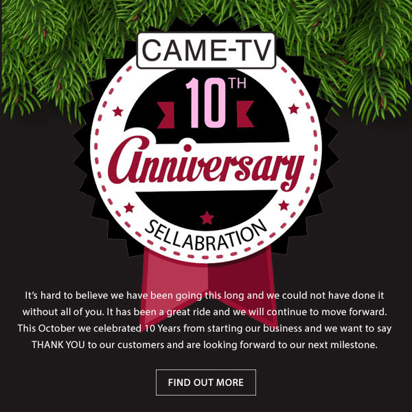 CAME-TV Anniversary Sellabration