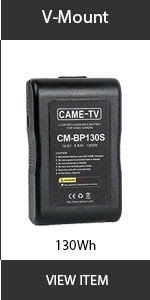 CAME-TV V Mount 130wh