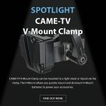 CAME-TV - Spotlight V-Mount Clamp