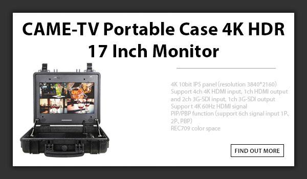 CTV 4k HDR 17inch Monitor
