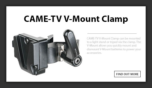 CTV V-Mount Clamp