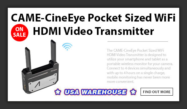 CAME-TV CineEye Pocket Transmitter