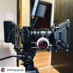 INSTAGRAM: @brittney.janae posted this pic of our CAME-TV Follow Focus on this Sony A7iii rig she got to film with on a recent project!  #cametv #followfocus #sony #sonya7iii #camerarig #cameraoperator