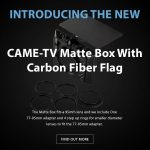 CAME-TV - New - Matte Box With Carbon Fiber Flag