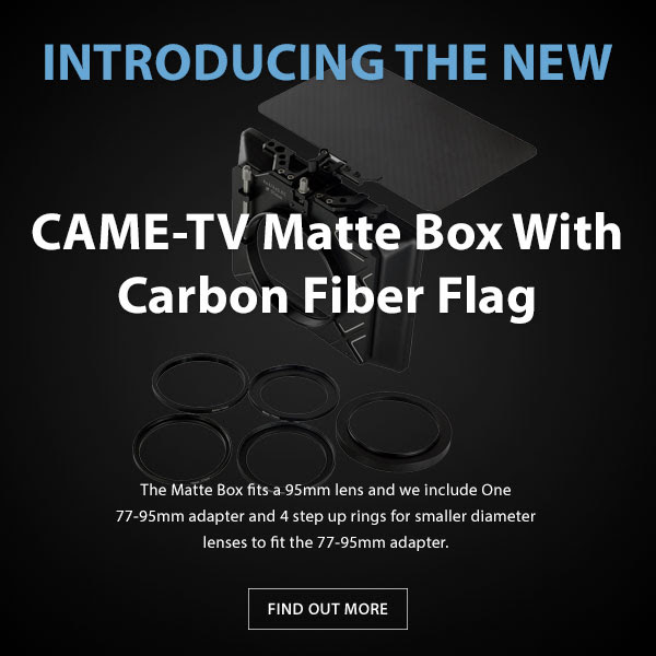 CAME-TV Matte Box With Carbon Fiber Flag