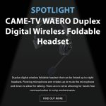 CAME-TV - Spotlight - Waero Headset