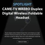 CAME-TV - Spotlight - Waero Headset