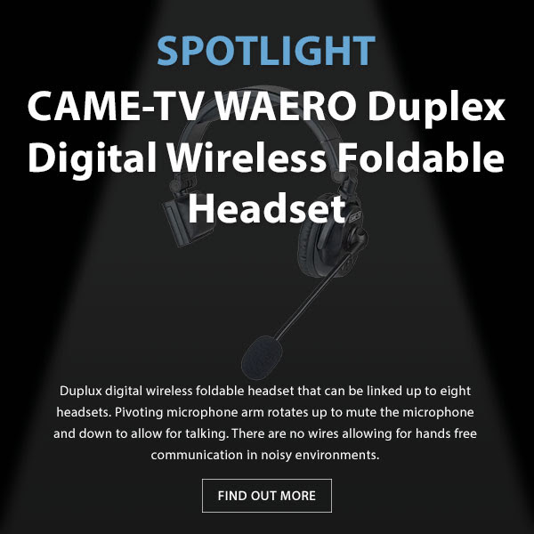 CAME-TV Waero Duplex Headset