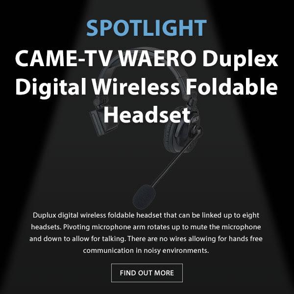 CAME-TV Waero Duplex Headset