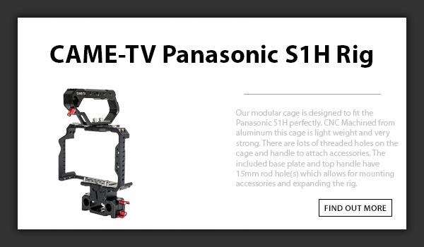 CTV Panasonic S1H Rig