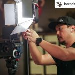 INSTAGRAM: BTS pic of @beradstudio setting up one of our CAME-TV 75w Perseus Lights on a recent shoot!
