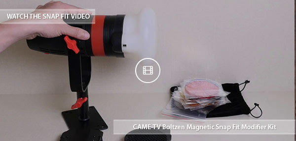 CAME-TV Boltzen 55w Snap Filter Kit