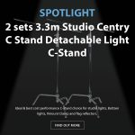 CAME-TV - Spotlight C-Stands