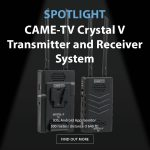 CAME-TV - Spotlight Crystal V Transmitter and Receiver System