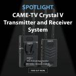 CAME-TV - Spotlight Crystal V Transmitter and Receiver System