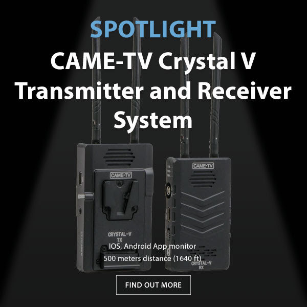 CAME-TV Crystal-V Wireless Transmitter