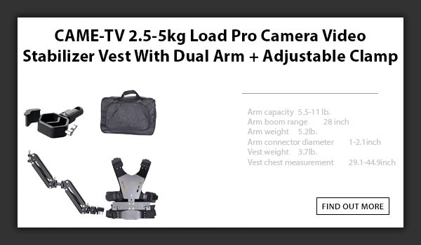 CTV Stabilizer Vest With Clamp