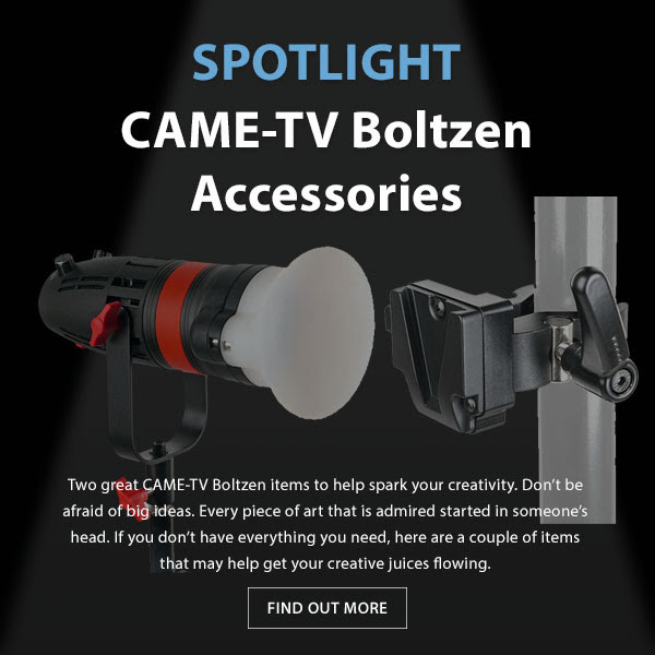 CAME-TV Boltzen accessories