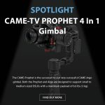 CAME-TV - Spotlight - Prophet 4 in 1 Gimbal