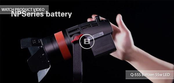 CAME-TV Q-55s Boltzen LED Light Video