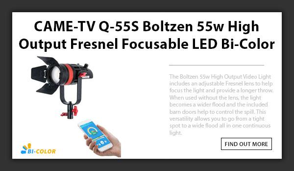 Q-55s Boltzen LED Light