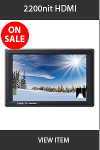 CAME-TV 2200nit HDMI Monitor