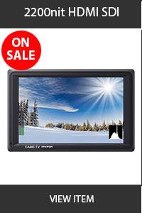 CAME-TV 2200nit HDMI SDI Monitor