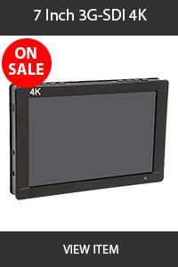 CAME-TV 7inch 3G-SDI 4K Monitor