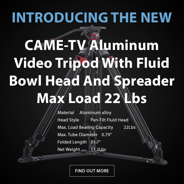 CAME-TV Aluminum Tripod