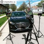 INSTAGRAM: @empstudios_ny filming a car scene using two of our CAME-TV Boltzen 30w LED Fresnel Lights!  #cametv #boltzen #ledlight #lighting #onset #led #fresnellight #cametvlight