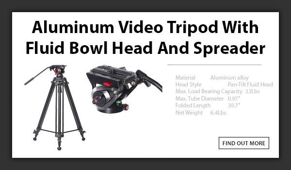 CAME-TV Aluminum Tripod 606A