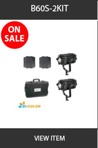 CAME-TV B-60s 2 pack