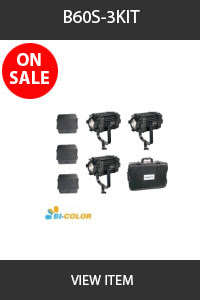 CAME-TV B-60s 3 pack