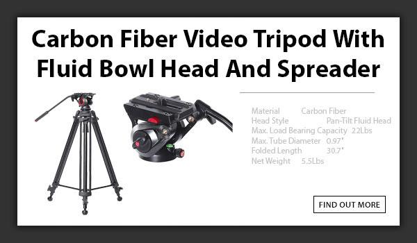 CTV Carbon Fiber 606B Tripod