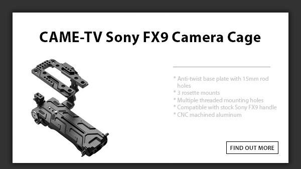 CTV Sony Fx9 Camera Cage