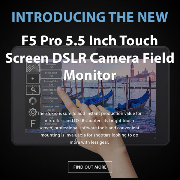 CAME-TV F5 Pro 5.5in Field Monitor