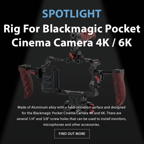 CAME-TV BMPCC 4k:6k Rig