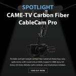 CAME-TV - Spotlight Carbon Fiber CableCam Pro