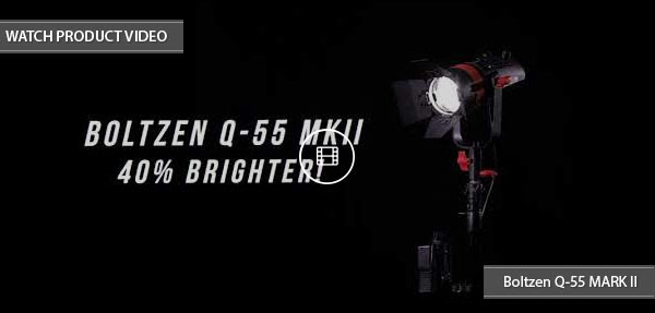 Boltzen Q55 LED Fresnel Light MKII