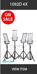 CAME-TV 1092D Ultra Slim LED Light