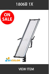 CAME-TV 1806B Bi-Color Ultra Slim LED Light