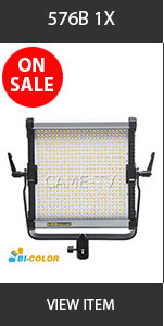 CAME-TV 576B Ultra Slim LED Light