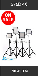 CAME-TV 576D Ultra Slim LED Light
