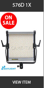 CAME-TV 576D Ultra Slim LED Light