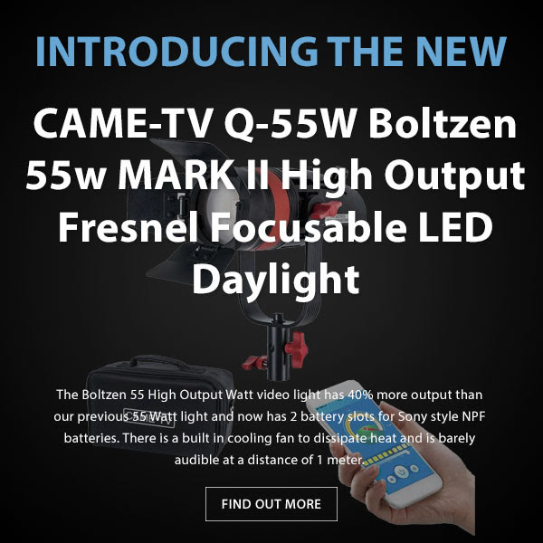 CAME-TV Boltzen Q55 LED Fresnel Light MKII