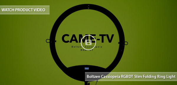 CAME-TV Cassiopeia Ring Light
