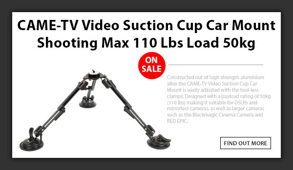 CAMETV Video Suction Cup Mount