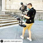 INSTAGRAM: Here are some cool pics of @gerardo_mastrogiovanni using our CAME-TV Stabilizer paired with the Kinefinity Mavo LF 6K!  #cametv #stabilizer #kinefinity #6k #cametvstabilizer #fullframe #steadicam #cameraoperator
