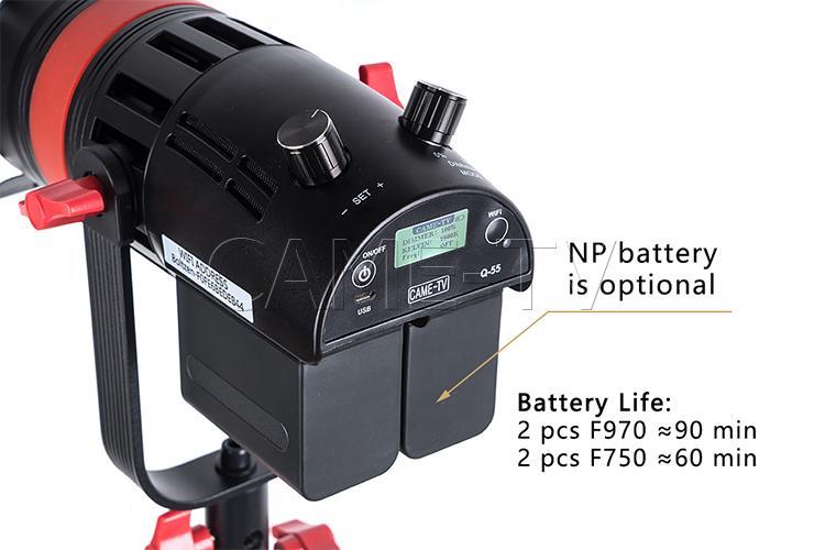 came-tv boltzen Q-55 MKII Daylight LED Fresnel Light