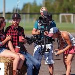 INSTAGRAM: Our CAME-TV Stabilizer and Vest being used on a recent outdoor music video shoot! Photo by: @bojosfilm  #cametv #stabilizer #steadicam #cametvstabilizer #RED #redcinema #musicvideo #onset #cameraoperator #steadicamoperator
